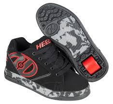 HEELYS PROPEL 2.0 RED BLACK CONFETTI