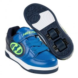 HEELYS PLUS X2 LIGHTED/NAVY/AZUL/AMARILLO
