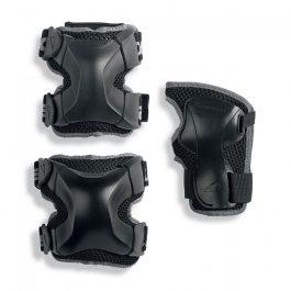 PROTECCIONES ROLLERBLADE X-GEAR NEGRO PACK