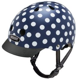 CASCO NUTCASE NAVY DOTS STREET